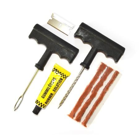 Punkteringsreparationssats / Däckreparationskit för slanglösa däck