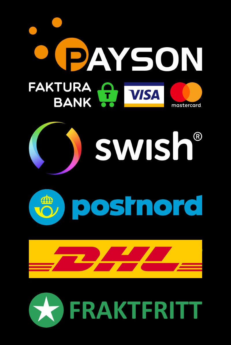 Betalning & Leverans